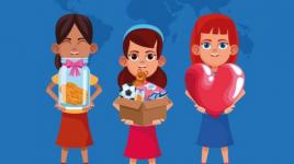 Comment présenter le concept de charité à vos enfants