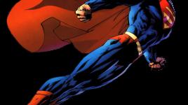Le super héro Superman