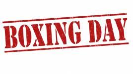 La célébration de la journée de boxing