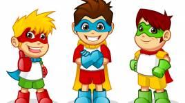Le rôle des super héros pour les enfants