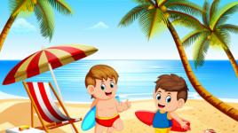 Comment les enfants peuvent profiter de leurs vacances d'été