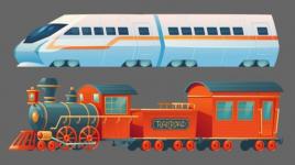 Trains : histoire et faits amusants pour les enfants