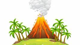 Conte « pourquoi les volcans ont de la lave? »