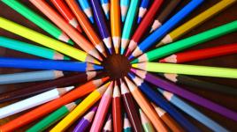 Poème Les crayons de couleur