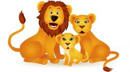 Comptine La chasse au lion