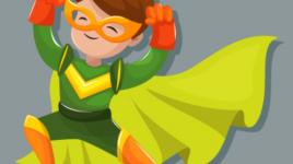 Vous voulez être un petit super-héros ? C'est ce que tu devrais faire