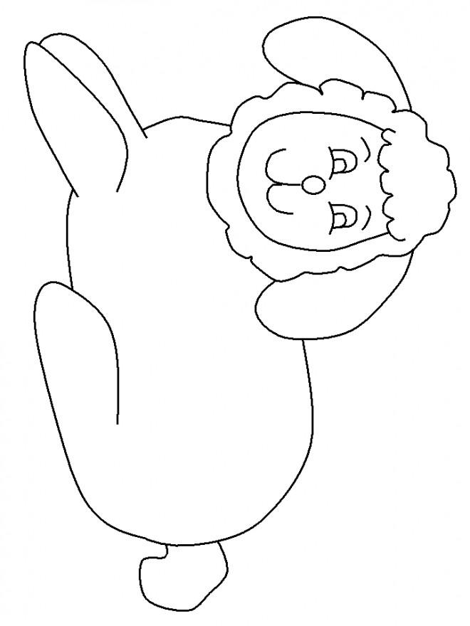 Coloriage et dessins gratuits Agneau dessin à télécharger à imprimer