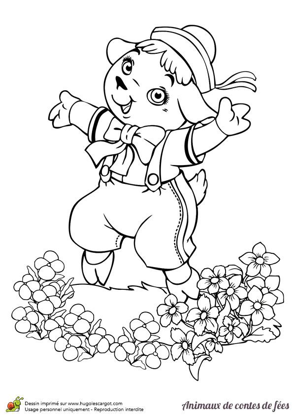 Coloriage agneau mignon dessin gratuit imprimer - Coloriage agneau ...