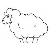 Coloriage et dessins gratuit Mouton à imprimer