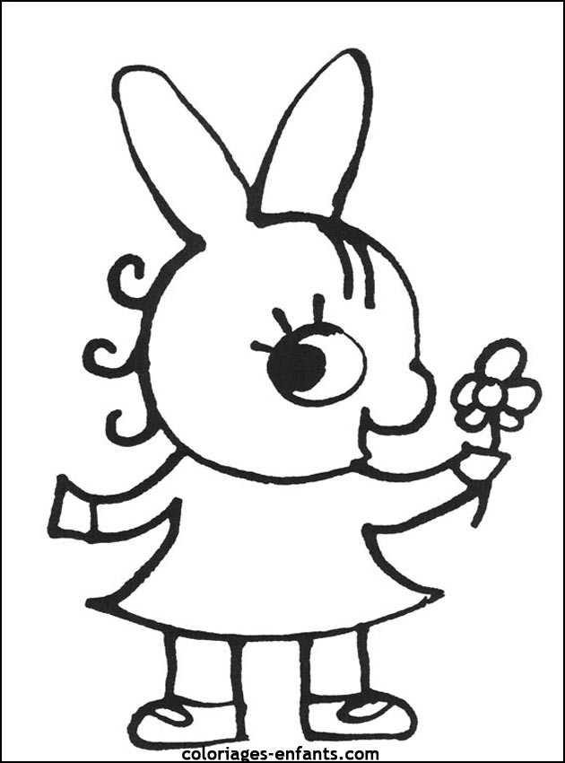 Coloriage Petit âne mignon dessin gratuit à imprimer