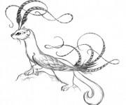 Coloriage et dessins gratuit Belette à télécharger à imprimer