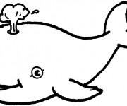 Coloriage Beluga pour enfant