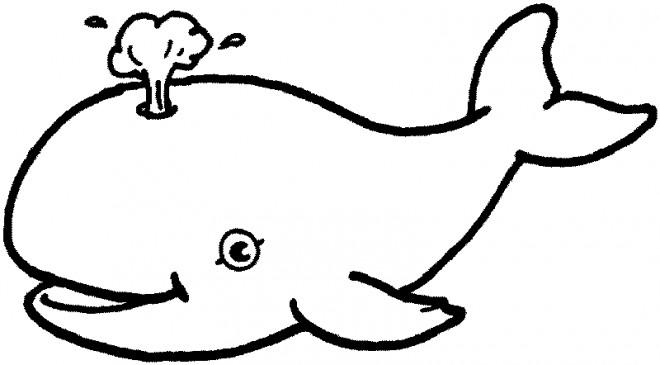 Coloriage et dessins gratuits Beluga pour enfant à imprimer
