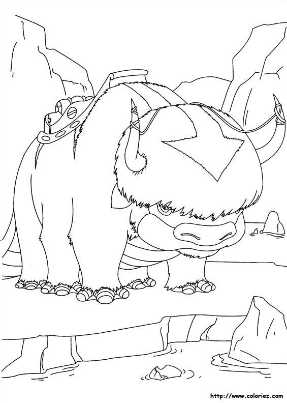 Coloriage bison dessin anim dessin gratuit imprimer - Coloriage bison ...