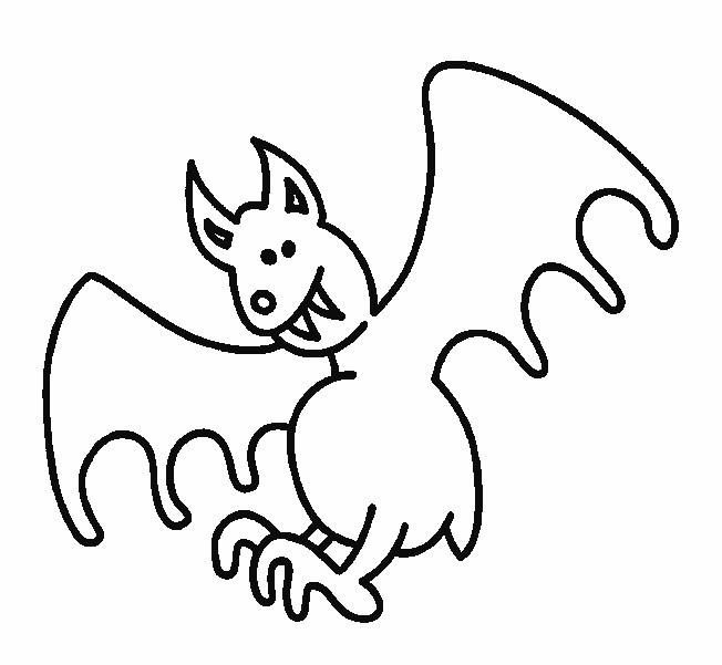 Coloriage et dessins gratuits Chauve-souris moche à imprimer