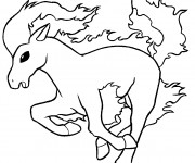 Coloriage Cheval 109