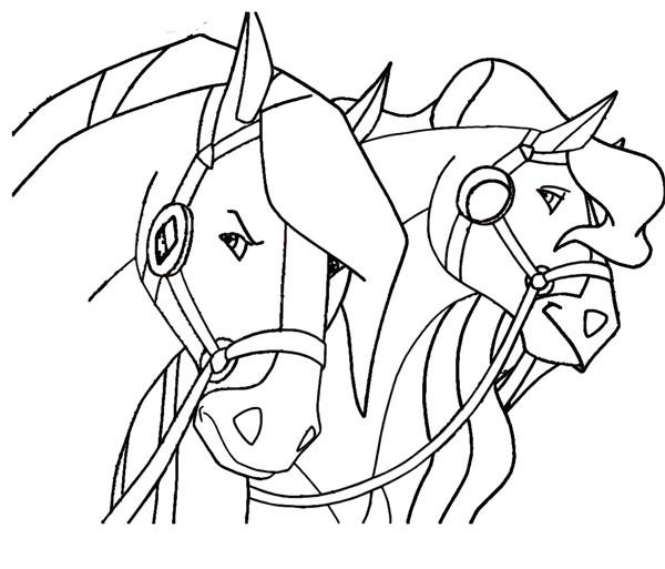Coloriage et dessins gratuits Horseland à imprimer