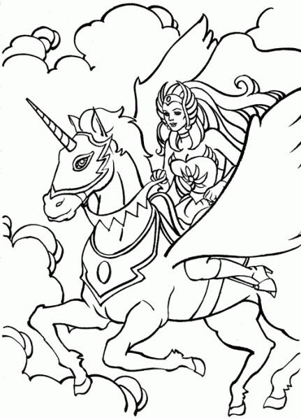 Coloriage et dessins gratuits Unicorne à imprimer