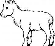 Coloriage et dessins gratuit Chevreau à imprimer