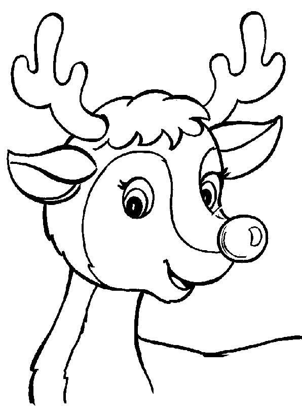 Coloriage et dessins gratuits Chevreuil content à imprimer
