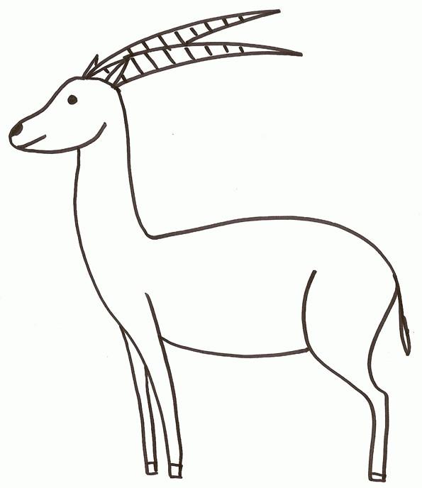 Coloriage et dessins gratuits Chevreuil élémentaire à imprimer