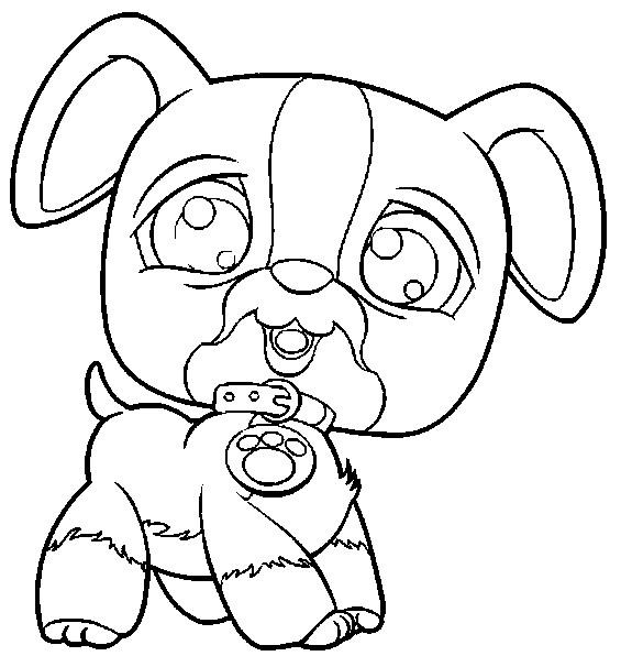 Coloriage b b chien trop mignon dessin gratuit imprimer - Dessin bebe chien ...