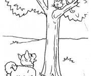 Coloriage dessin  Chat 35