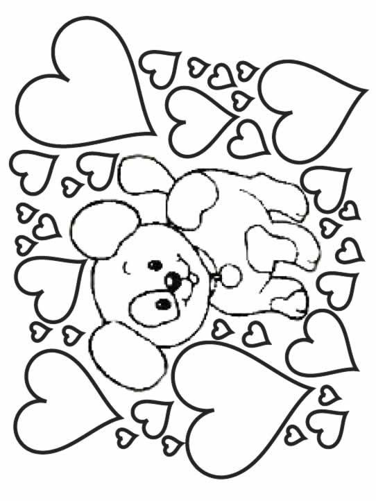 Coloriage Chien gratuit à imprimer liste 40 à 60