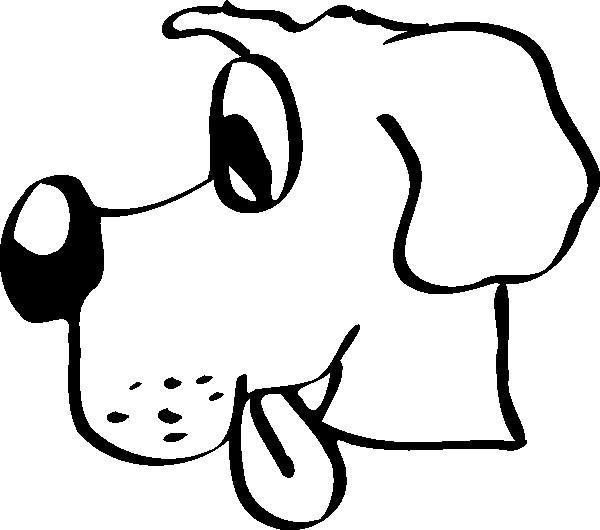 Coloriage t te de chien affam dessin gratuit imprimer - Dessin tete de chien ...