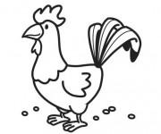 Coloriage et dessins gratuit Coq 13 à imprimer