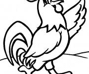 Coloriage et dessins gratuit Coq 15 à imprimer