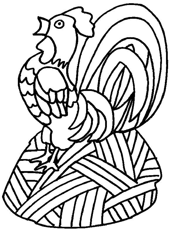 Coloriage et dessins gratuits Coq 25 à imprimer