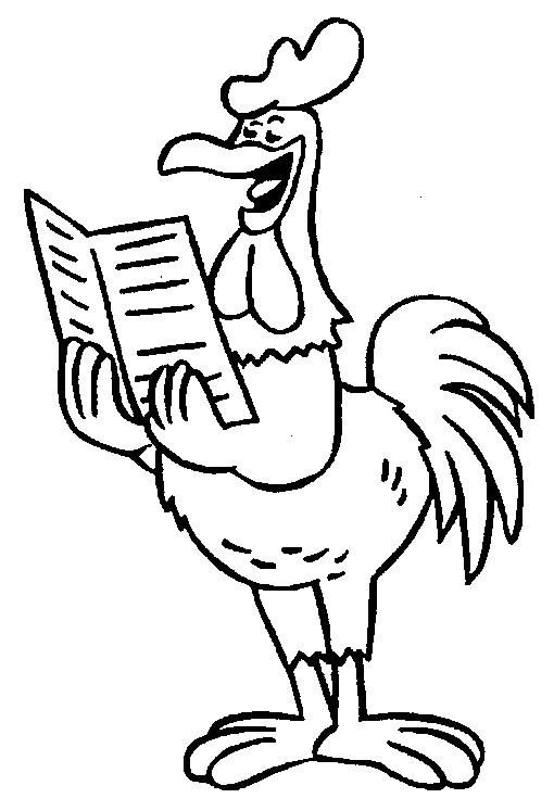 Coloriage et dessins gratuits Coq 39 à imprimer