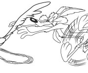 Coloriage dessin  Coyote 15
