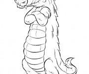 Coloriage dessin  Alligator 51