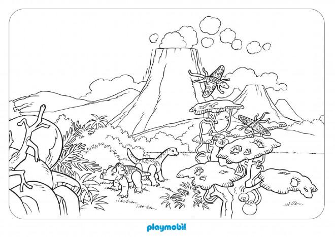 Coloriage des dinosaures dessin gratuit imprimer - Dessins de dinosaures ...