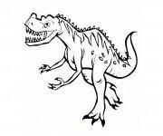 Coloriage dessin  Dinosaure 16