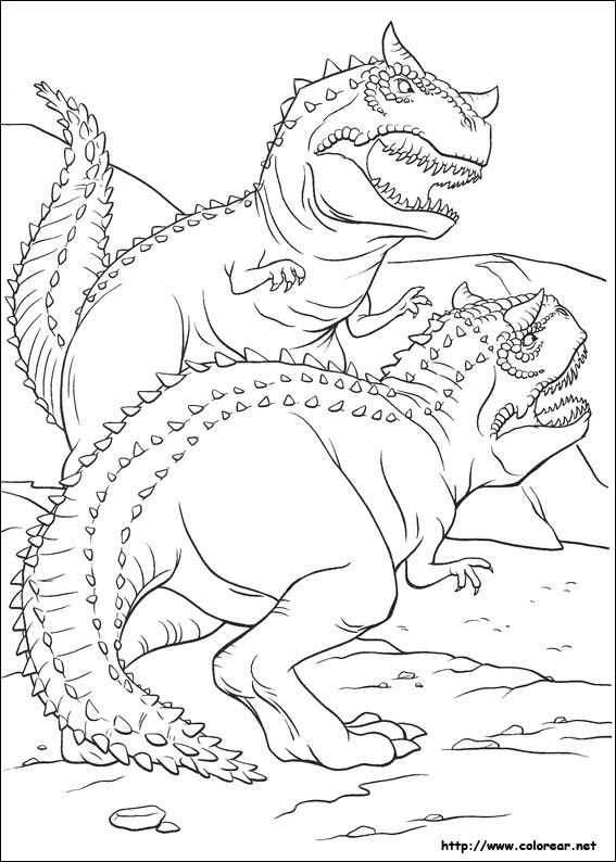 Coloriage et dessins gratuits Dinosaure Ankylosaure à imprimer