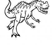 Coloriage et dessins gratuit Dinosaure carnivore à imprimer