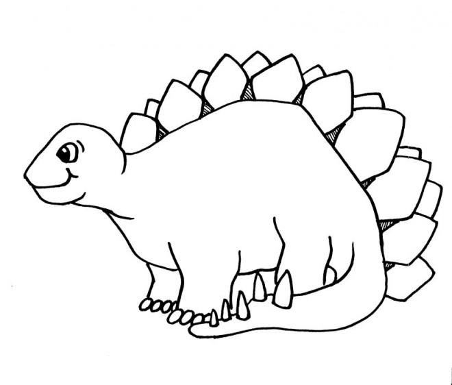 Coloriage dinosaure en ligne dessin gratuit imprimer - Coloriage de dinosaure a imprimer gratuit ...