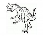 Coloriage et dessins gratuit Dinosaure Tyrex à imprimer