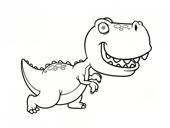 Coloriage mini dinosaure dessin gratuit imprimer - Coloriage de dinosaure a imprimer gratuit ...