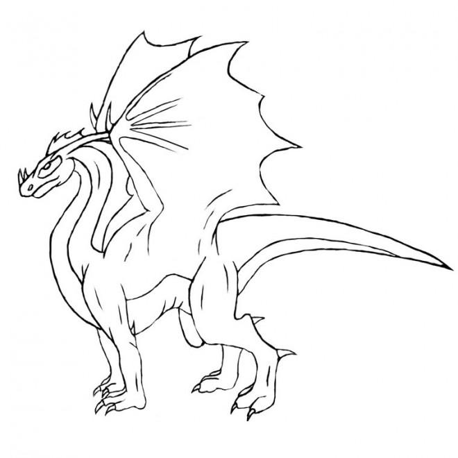 Dragon Dessin Simple