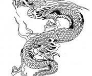 Coloriage Dragon gratuit à imprimer liste 20 à 40