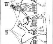 Coloriage dessin  Dromadaire 13