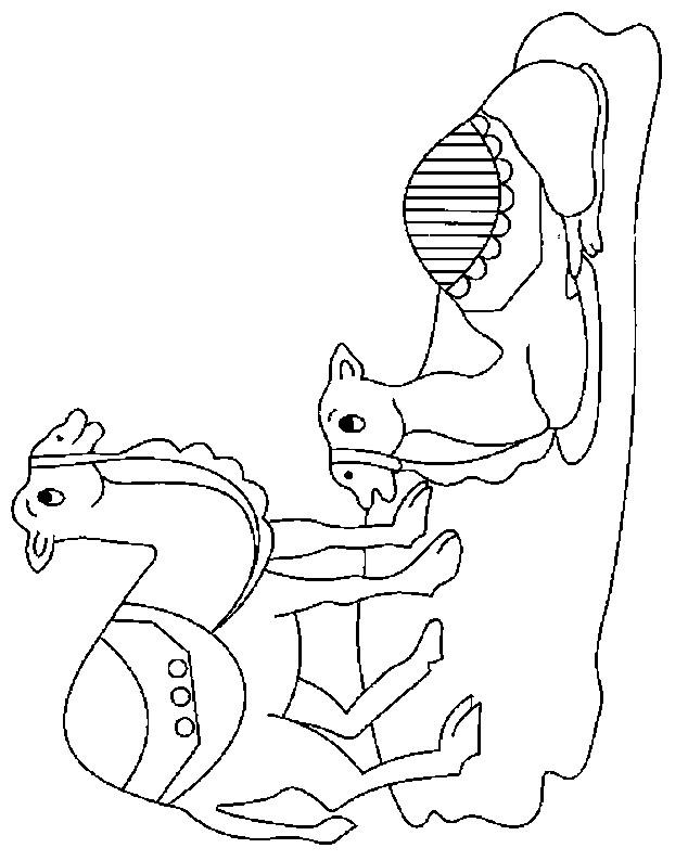 Coloriage et dessins gratuits Petits Dromadaires à imprimer