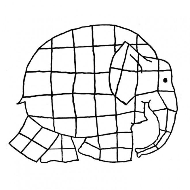 Coloriage et dessins gratuits Elephant 14 à imprimer