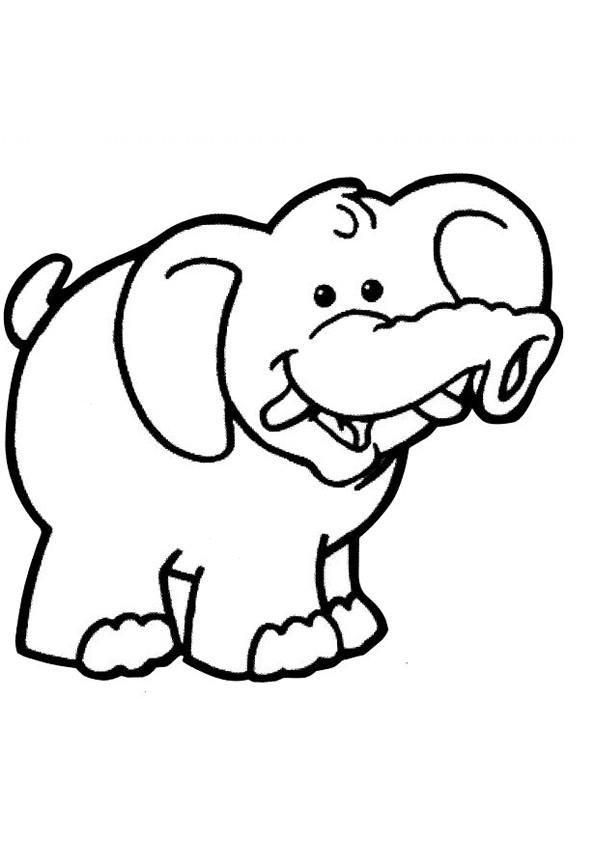 Coloriage et dessins gratuits Elephant 22 à imprimer