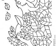 Coloriage et dessins gratuit Furet en jouant à imprimer