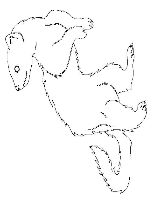 Coloriage et dessins gratuits Furet simple à imprimer